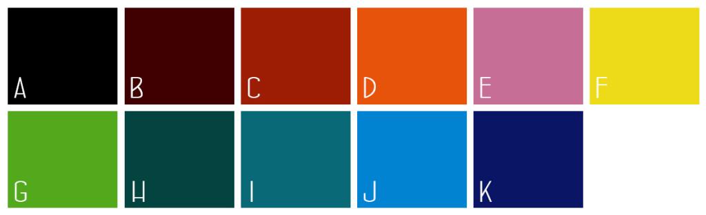 farby s lemom vnútrom a uškom