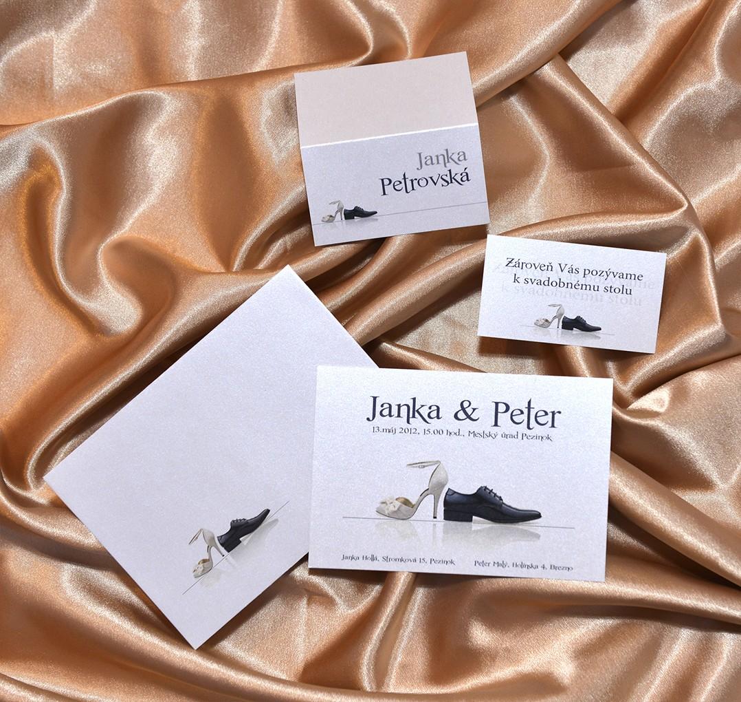 Ukážky svadobných sád